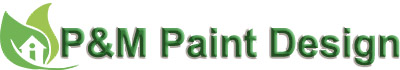 P&M Paint Design Logo